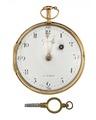 Fickur med boett av guld och utnyckel, 1800-tal - Hallwylska museet - 110452.tif