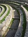 Fiesole, area archeologica, teatro 05 passaggio.JPG