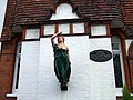 Figurehead, Pilgrim's Lane - geograph.org.uk - 639690.jpg