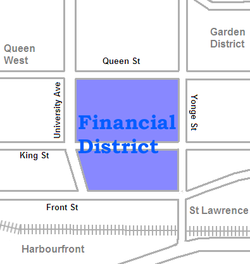 Location of Financial District