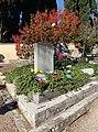 Firenze, cimitero degli allori, tomba di oriana fallaci, scrittore 02.JPG