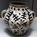 Firenze, vaso a zaffera con palmette, 1430 ca..JPG