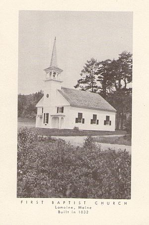 First Baptist Church (East Lamoine, Maine) - First Baptist Church of Lamoine, Maine