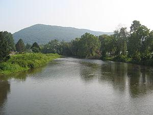 Fishing Creek (Bald Eagle Creek) - Fishing Creek from Pennsylvania Route 150 near Lock Haven
