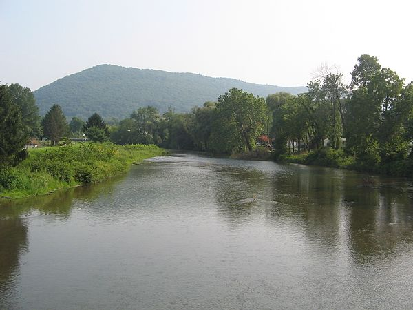 Tributaries of the west branch susquehanna river for Fishing creek pa