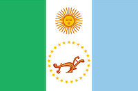 Flag of Chaco province in Argentina 2007.jpg