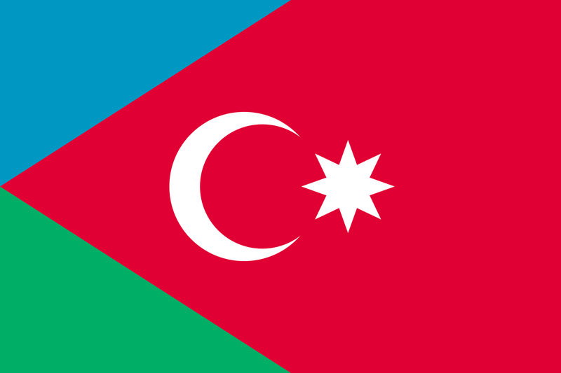 Dosye:Flag of the Southern Azerbaijan National Awakening Movement.png