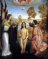 Flandes, Juan de — Baptism of Christ — 1496-99 (detail).jpg