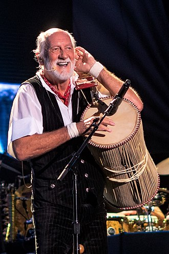 Mick Fleetwood - Fleetwood performing with Fleetwood Mac in 2018