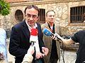 Flickr - Convergència Democràtica de Catalunya - Josep Rull aten la premsa des de Terrassa.jpg