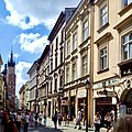 Floriańska Street in Kraków in August 2016.jpg