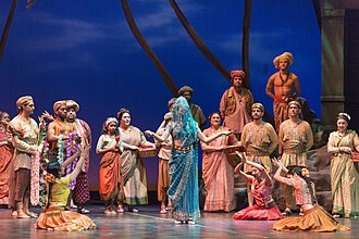 Florida Grand Opera - Scene from a 2015 performance of Les pêcheurs de perles by Georges Bizet