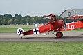 Fokker Dr.I Manfred Richthofen Preflight Dawn Patrol NMUSAF 26Sept09 (14413478827).jpg