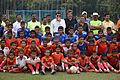 Football Workshop Participants with Dignitaries - Sagar Sangha Stadium - Baruipur - South 24 Parganas 2016-02-14 1229.JPG