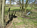 Footbridge near Eastnor Bowling Club - geograph.org.uk - 746771.jpg