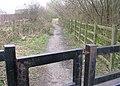 Footpath - Cooper Lane - geograph.org.uk - 725847.jpg