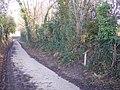 Footpath junction near Furnace Farm - geograph.org.uk - 1656956.jpg