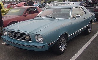 Ford Mustang (second generation) - Ford Mustang II coupe
