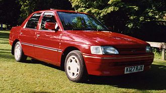 Ford Orion - Ford Orion 1.4 Ghia Mark III in Radiant Red