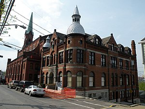 South Side Slopes, Pittsburgh - Image: Former Saint Michaels Catholic Church Rectory