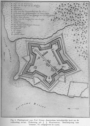 Fort Nieuw-Amsterdam - Image: Fort Nieuw Amsterdam