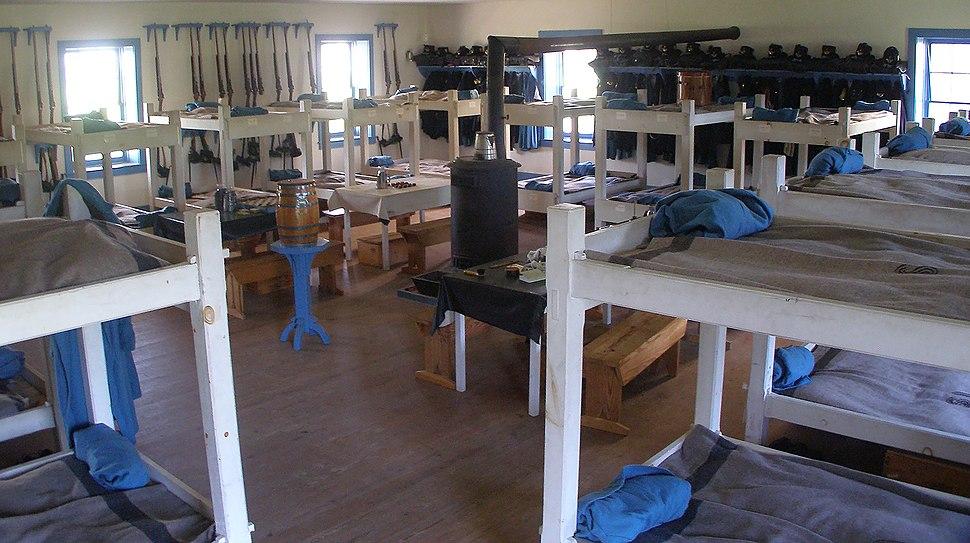 Fort Larned Barracks