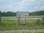 Fort Providence Airport fire warning sign - panoramio.jpg
