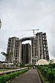 Forum Atmosphere - Residential Complex and Ideal Unique Centre - Office Building - Under Construction - Kolkata 2015-08-27 2472.JPG