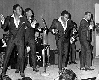Four Tops - Performing at New Rochelle (New York) High School, c. 1967