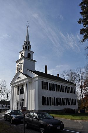 National Register of Historic Places listings in Framingham, Massachusetts - Image: Framingham MA First Baptist Church