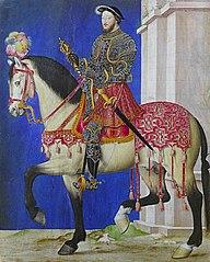 portrait équestre de François Ier