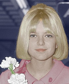 France Gall FranceGall-1965-colorise.jpg