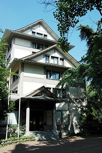Japanese community of Paris - Cité Universitaire, Maison du Japon