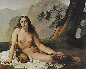 Mary Magdalene as a hermit