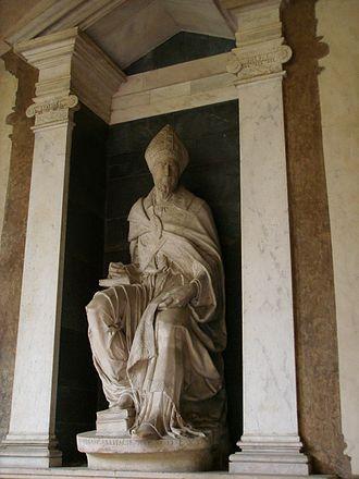 Paolo Giovio - Monument to Paolo Giovo by Francesco da Sangallo, in San Lorenzo Basilica, Florence