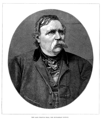 Ferenc Deák - Image: Francis Deak Illustrated London News February 19, 1876
