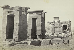 Francis Frith - The Temple of Dabod, Nubia.jpg