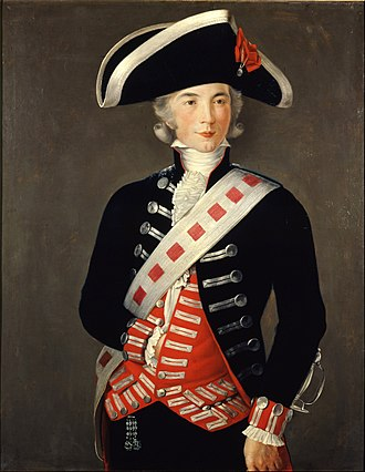 Manuel Godoy - Godoy in 1788 as a Guardia de Corps, by Francisco Folch de Cardona