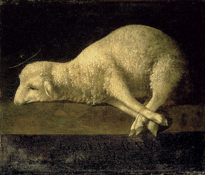 File:Francisco de Zurbarán - Agnus Dei - Google Art Project.jpg