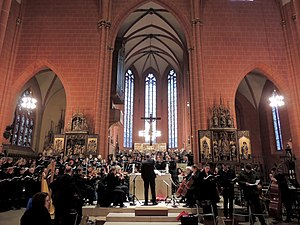 Laudato si' (oratorio) - The same performers reprised the work at the Frankfurt Cathedral on 29 January 2017.