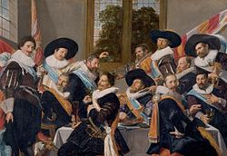 Frans Hals: The Banquet of the Officers of the St Adrian Militia Company in 1627
