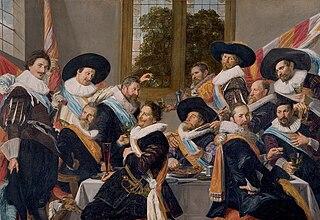 Banquet des officiers du corps des archers de Saint-Adrien