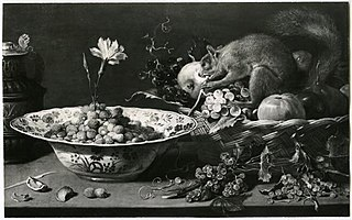Fruits, Carnation and Squirrel