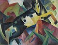 Franz Marc - Springendes Pferd - FM 171 - Bavarian State Painting Collections.jpg