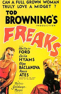 <i>Freaks</i> (1932 film) 1932 film by Tod Browning