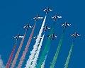 Frecce Tricolori NL Air Force Days (9288700585).jpg