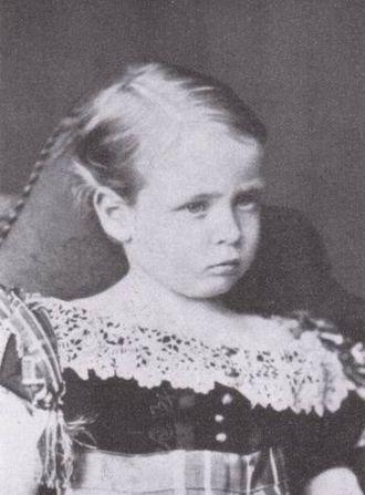 Prince Friedrich of Hesse and by Rhine - Prince Friedrich, ca. 1872.