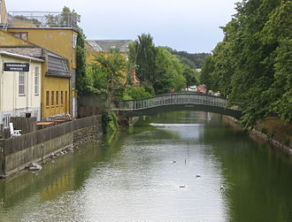 Frederiksværk - view of the canal