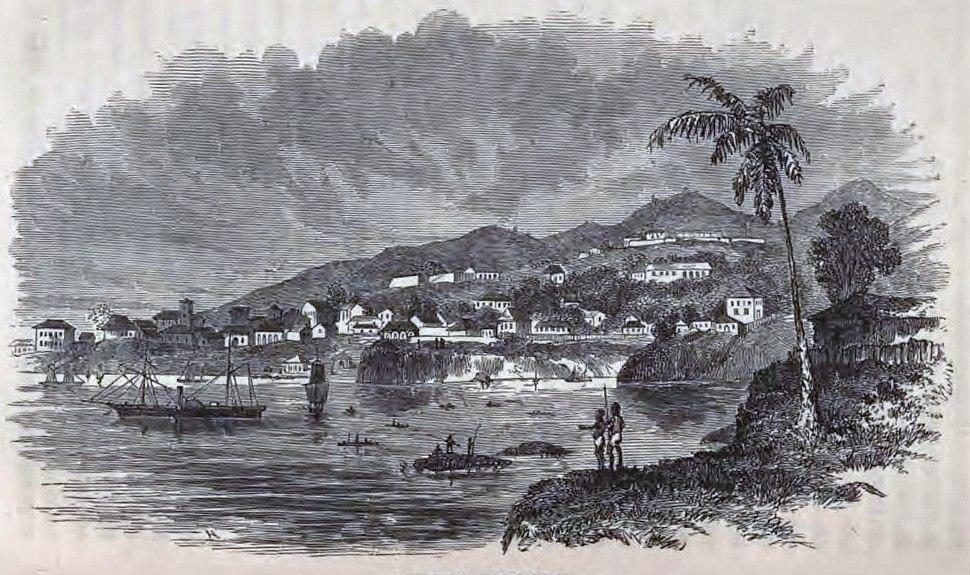 Freetown, Sierra Leone ca 1856