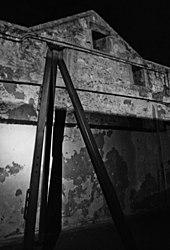 Fremantle Prison whipping post.